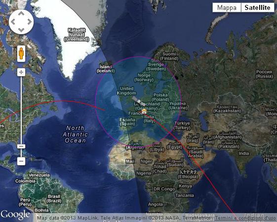 Visual sat flare tracker 3d online tutorial google map gumiabroncs Images