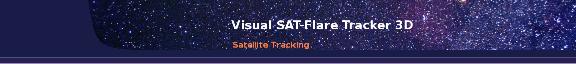 Visual SAT-Flare Tracker 3D